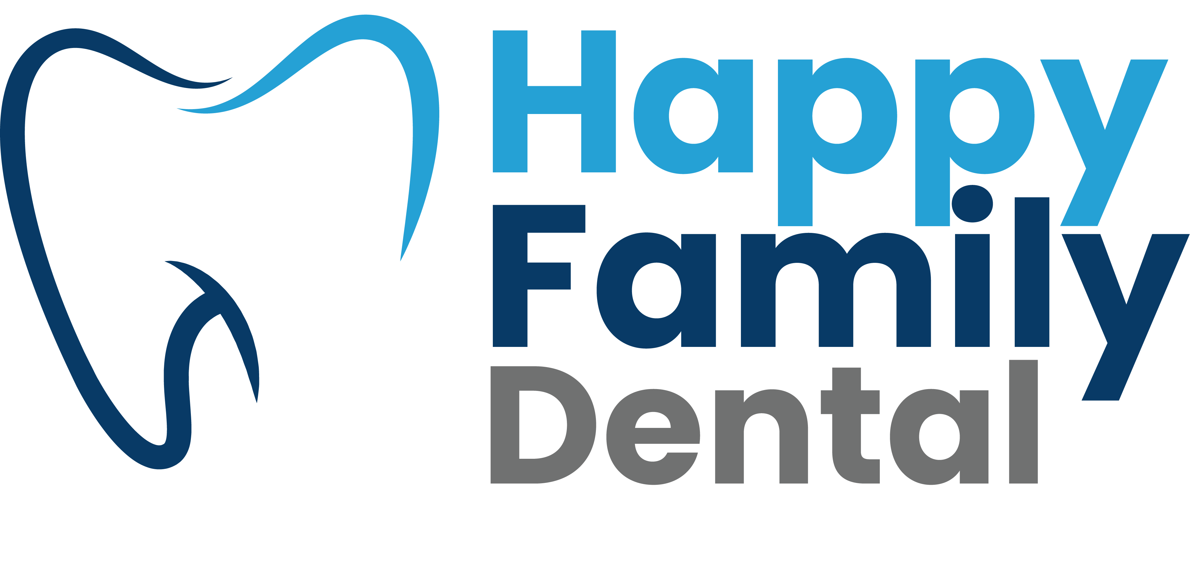 happy family dental logo